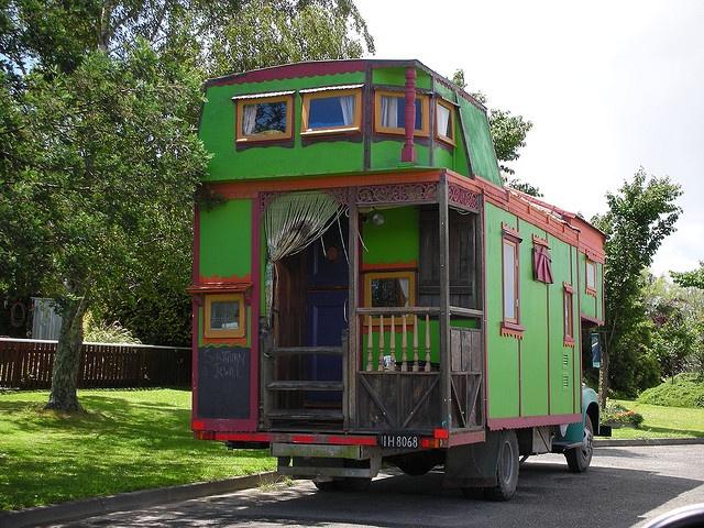Green Trolley RV