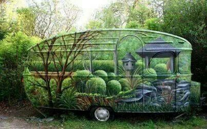 """Green """"Picture is Worth 1000 Words"""" RV"""