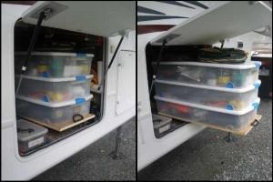 Under Carriage Storage