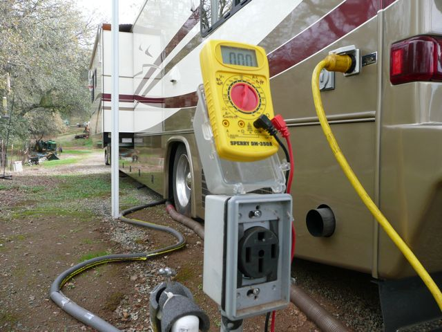 rv electrical all the basics you need to know! rvshare com Rv Park Power Pedestal Wiring Diagram 100 amp rv electrical service pedestal