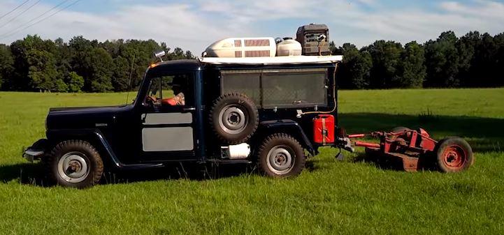 ultimate redneck truck camper