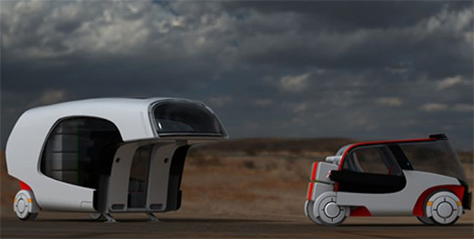 The Colim - A Cool RV Concept By Christian Susana
