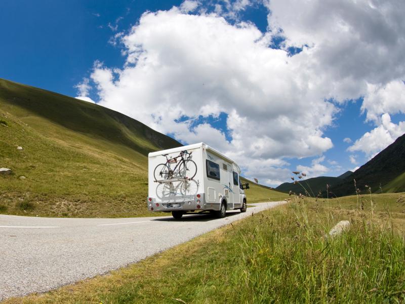Auto Camper. Motor Home