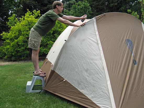 waterproofing-the-tent