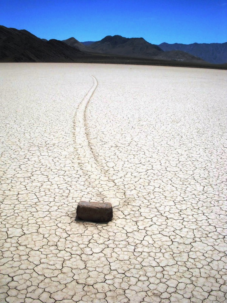 Mysterious Roving Rocks of Racetrack Playa