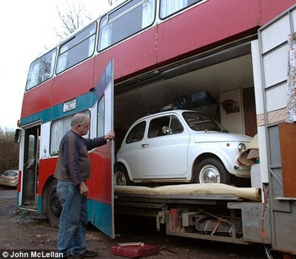 Double-Decker-Bus-Conversion-with-Garage-for-Tiny-Car-02-600x524