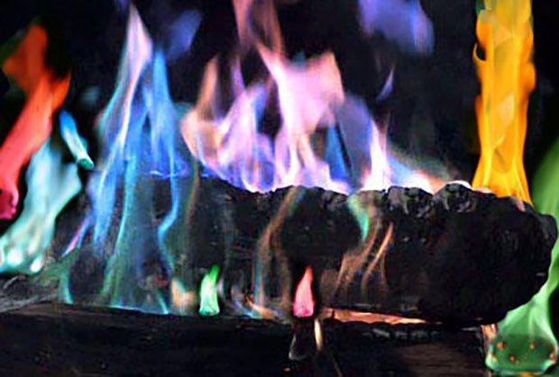 campfire coloring kit