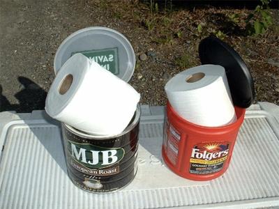 dry toiletpaper