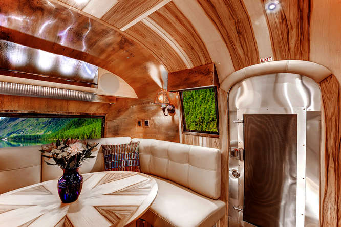 vintage airstream interior