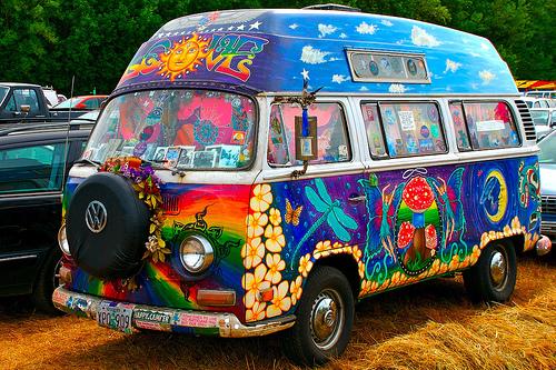 vw hippie